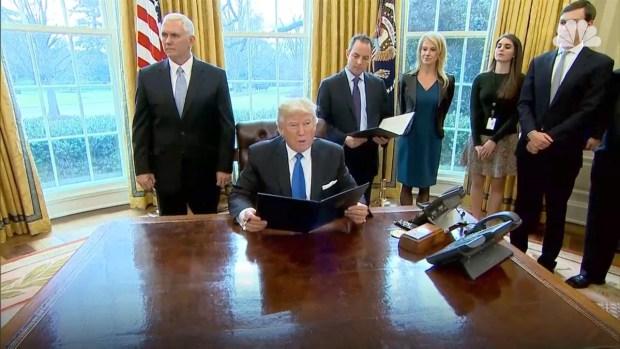 [NATL] Trump Signs Executive Orders Advancing Keystone, Dakota Access Pipelines