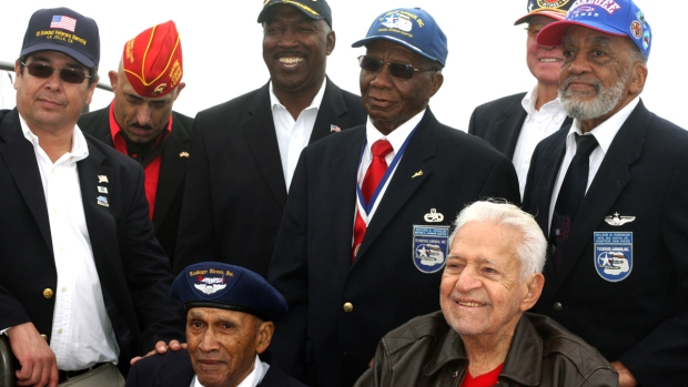 [G] WWII Tuskegee Airmen Honored at Mt. Soledad
