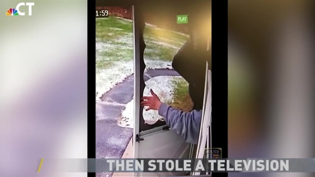 Burglary Suspect Smashed Door to Access Home: Watertown