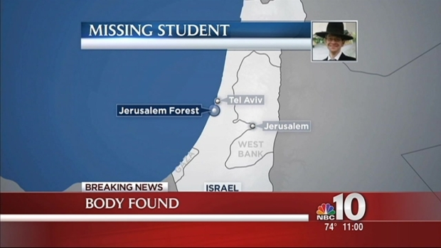 [PHI] Body Found in Israel Near Where NJ Man Went Missing