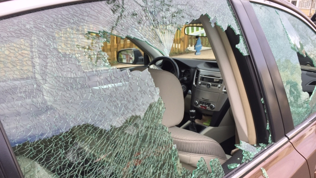 Multiple Vehicles Vandalized Overnight in West Haven