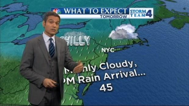 [NY] Morning Forecast for Monday, November 25