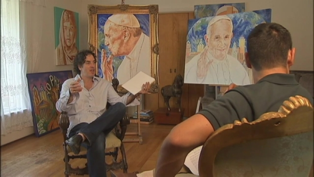 [NATL-NY] New Jersey Artist Named Official Pope Francis Portrait Painter