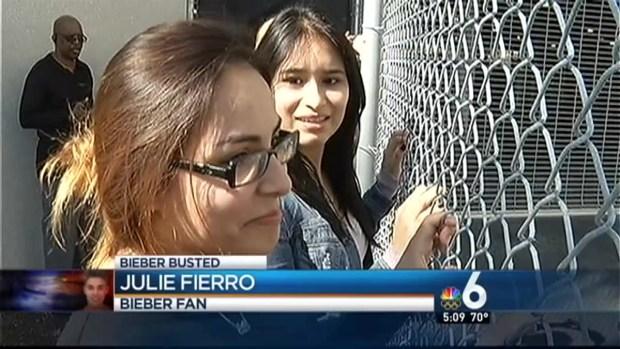 [MI] South Florida Fans React to Justin Bieber Arrest