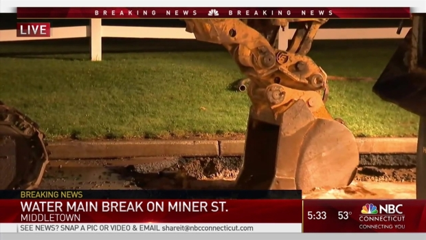 [HAR] Water Main Break Reported in Middletown