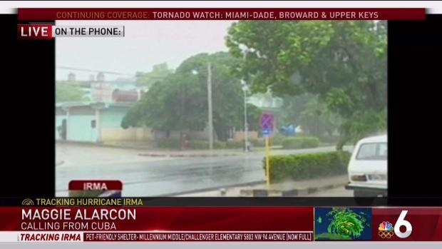 [MI] Woman Describes Hurricane Irma Effects in Havana