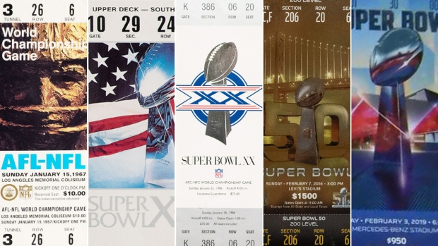 [NATL] The Art of Super Bowl Tickets