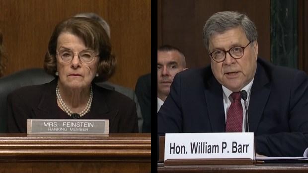 [NATL] Sen. Feinstein Presses Barr on Trump's Interactions with McGahn