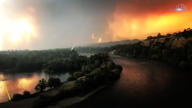[NATL] Carr Fire Burns Through Redding, California, Leaving Two Dead