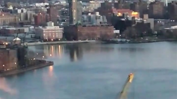[NY] Woman Eating Dinner Captures Exact Moment Chopper Crashes Into East River, Killing 5