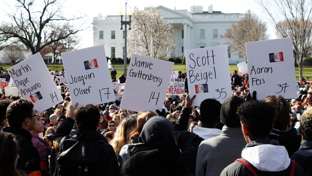 Students Stage Walkouts Across the US