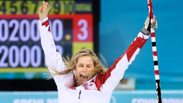 [SOCHI-NATL] Go! Sweep! Hard! Dramatic Sochi Olympics Curling Photos