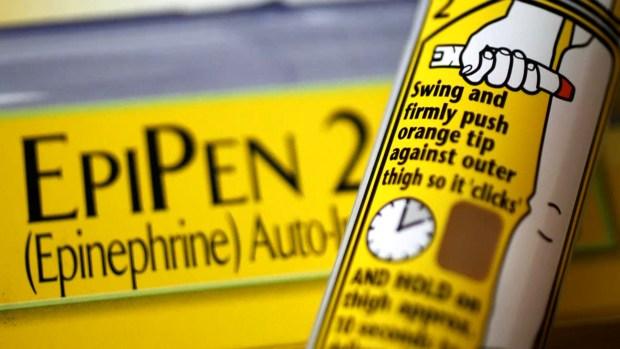 [NATL] EpiPen Shortage Declared by FDA