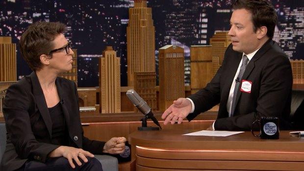 [NATL] 'Tonight Show': Rachel Maddow Discusses Nice, Trump VP