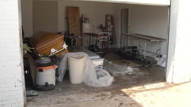 [DFW] NBC 5 Goes Inside Fort Worth Funeral Home Where 8 Decaying Bodies Were Found