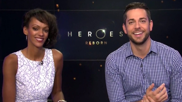 [DFW] 'Heroes Reborn' Stars Discuss Show