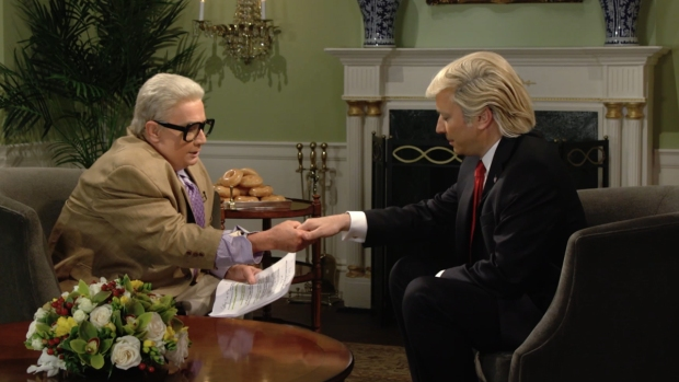 [NATL] 'Tonight Show': Jiminy Glick Interviews Donald Trump on His First 100 Days