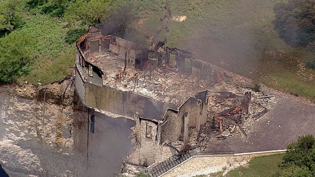 [DFW] Lake Whitney House Burned to Ground