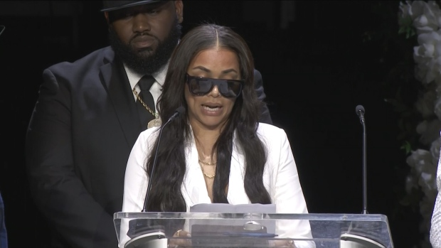[NATL]  Lauren London's Emotional Text Message to Nipsey Hussle