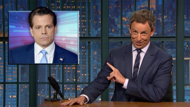 'Late Night': A Closer Look at Scaramucci's Resignation