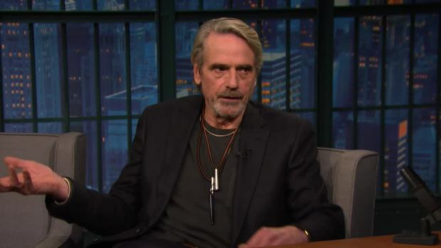 [NATL] 'Late Night': Jeremy Irons' Alfred Is a Different Butler