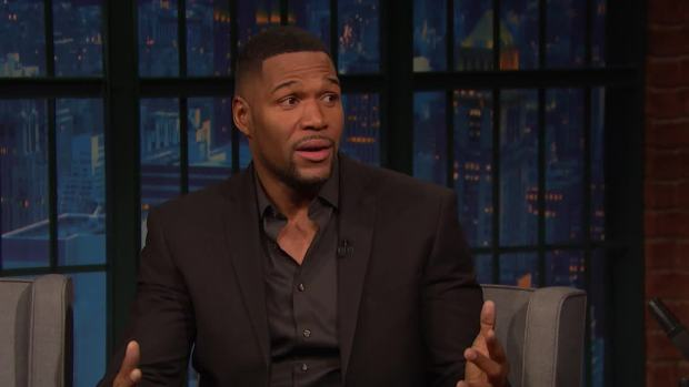 [NATL] 'Late Night': Strahan Skipped White House After Super Bowl