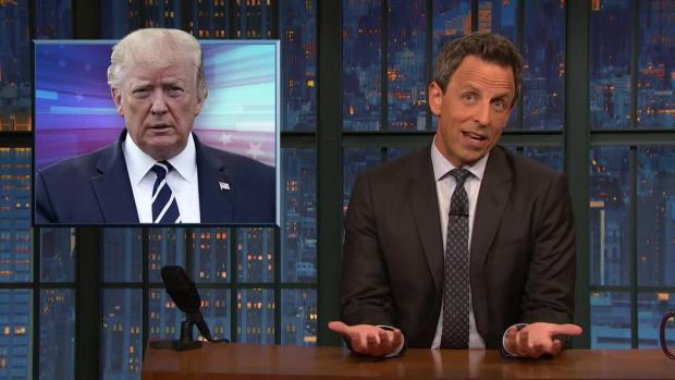 [NATL] 'Late Night': A Closer Look at Trump's Recession Comments