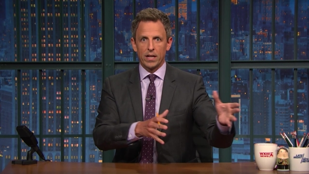 Late Night: Seth Meyers Reflects on Protests During Anthem Love of Football