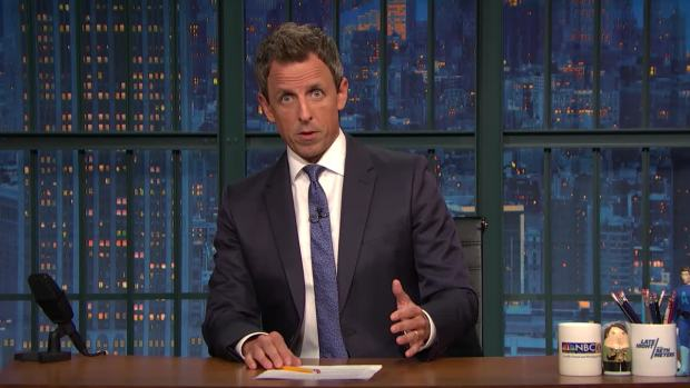 'Late Night': Seth Meyers on the Las Vegas Mass Shooting