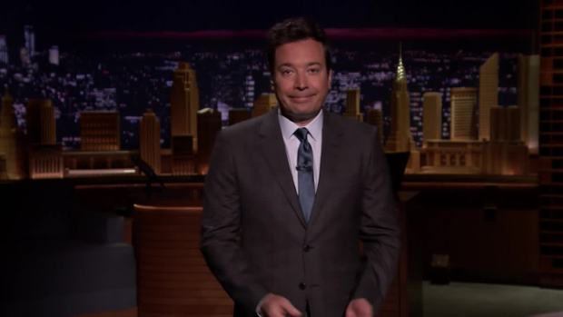 'Tonight': Fallon, Cyrus, Sandler Pay Tribute to Vegas