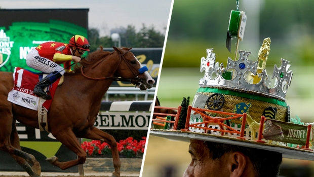 [NATL] The 2018 Belmont Stakes in Photos: Justify Wins Triple Crown