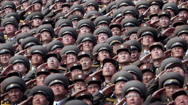 North Korea warns against USA  'hysteria' as it marks founder's birth