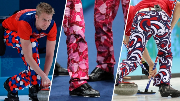 [NATL] Norway's Curlers Are No Strangers to Fun Pants, Enjoy 'Turning Heads'
