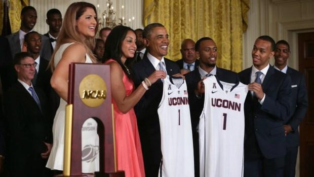 [HAR] President Praises UConn Men