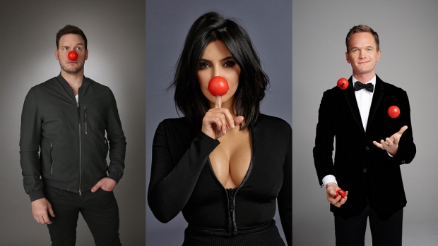 [NATL] Celebrities Celebrate Red Nose Day