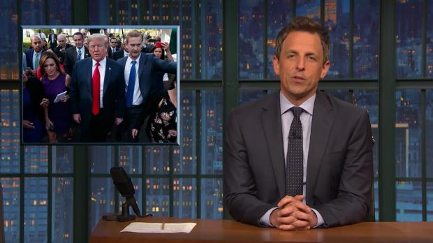 [NATL] 'Late Night': A Closer Look at Trump Lies on Family Separation
