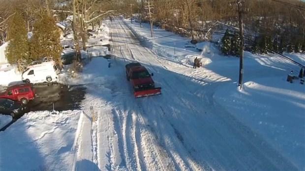[NATL] Check Out Long Island's Snowfall Via Drone