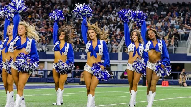 [NATL] Former Cheerleader Sues Dallas Cowboys