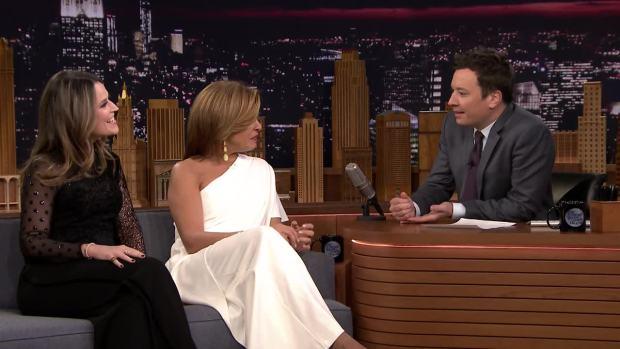[NATL] 'Tonight': Savannah Guthrie and Hoda Kotb on Finding TODAY Success After Matt Lauer