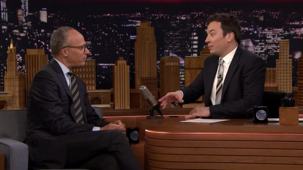 [NATL] 'Tonight': Lester Holt on the Upcoming Winter Olympics and His Recent Trip to North Korea