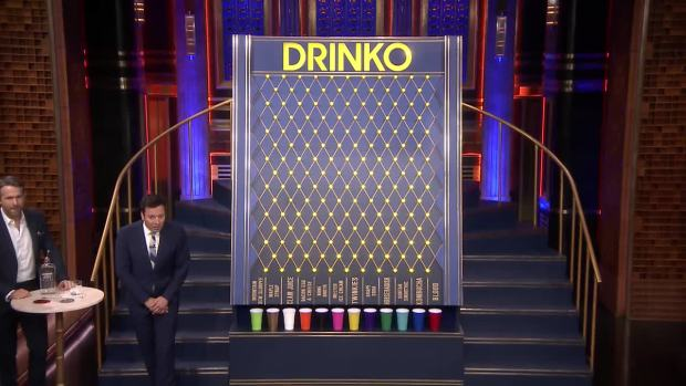 [NATL] 'Tonight': Drinko With Ryan Reynolds