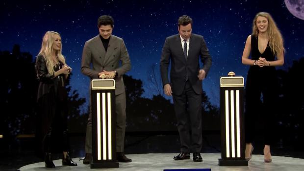 [NATL] 'Tonight': Name That Song Challenge With Lively, Underwood