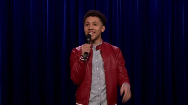 [NATL] 'Tonight': Jaboukie Young-White Performs TV Stand-Up Debut