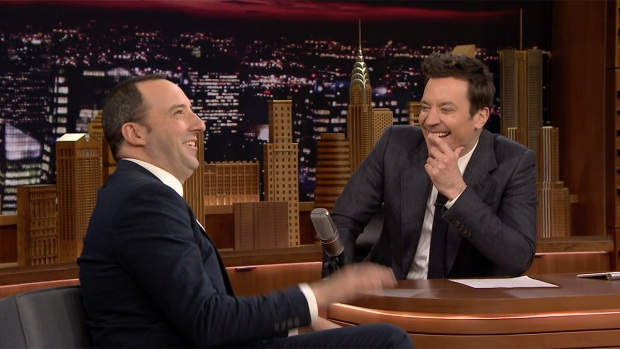 [NATL] 'Tonight': Tony Hale's Not Sure His Wife Likes Him