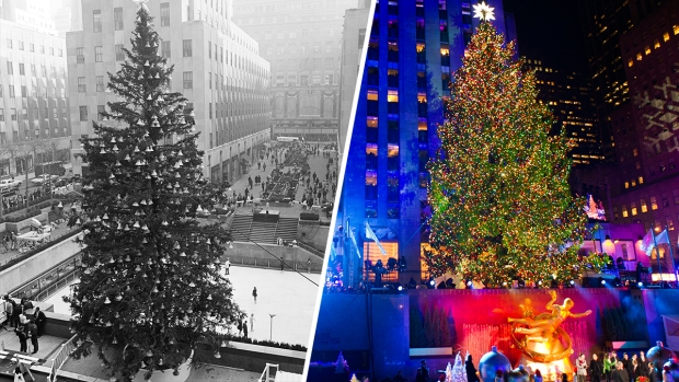 Dazzling Rockefeller Center Christmas Trees From Years Past - 2016 Rockefeller Center Tree Lighting: What You Need To Know Before