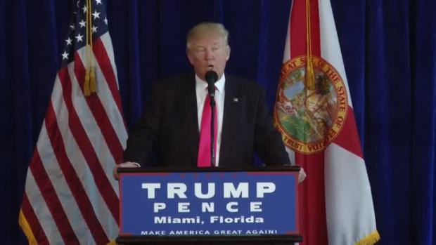 Trump Says He Hopes Russia Finds Clinton's Missing Emails