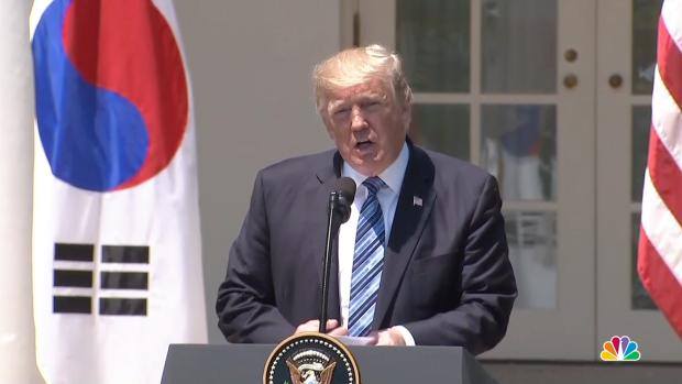 "[NATL] Trump on North Korea: ""Choose a Better Path"""