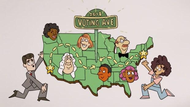 [NATL] 'Tonight': Voting Avenue Ft. Yara Shahidi