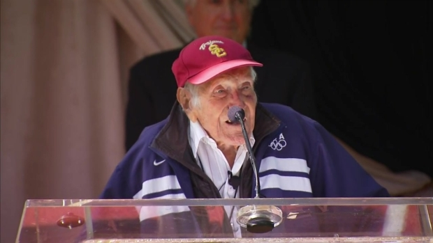 [LA] WWII Hero, Olympian Louis Zamperini Named Rose Parade Grand Marshal