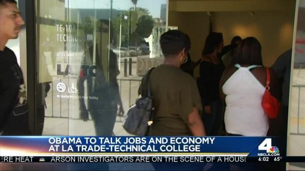 [LA] President Obama Busy on 2nd Day of LA Visit